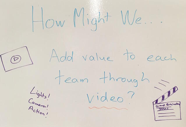 how might we add value to each team through video