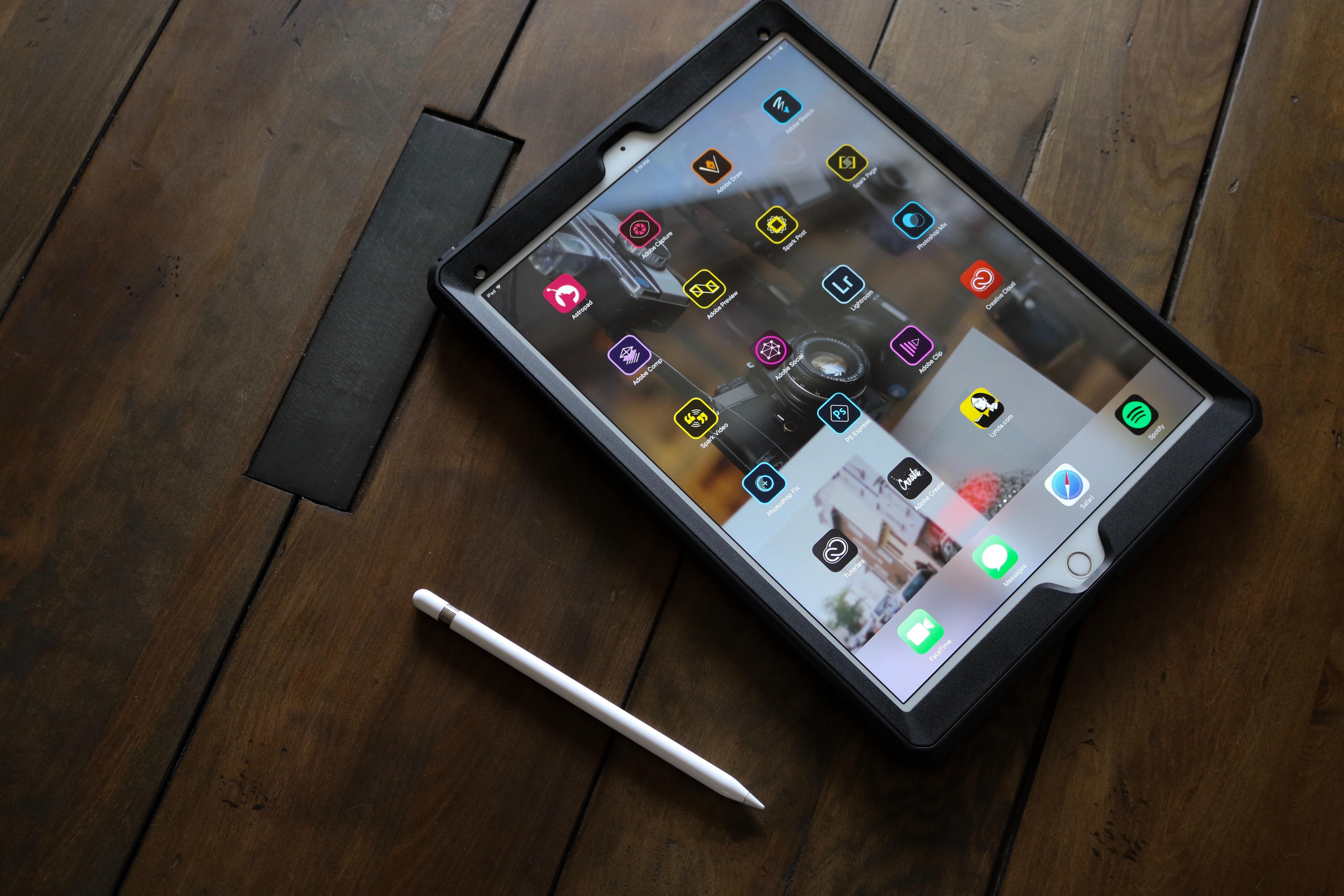 Adobe Programs on an iPad